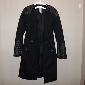 Mark Trench Coat with Belt Women S/P Black